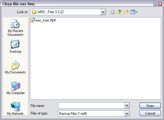 hướng dẫn sử dụng chức năng phục hồi dữ liệu
