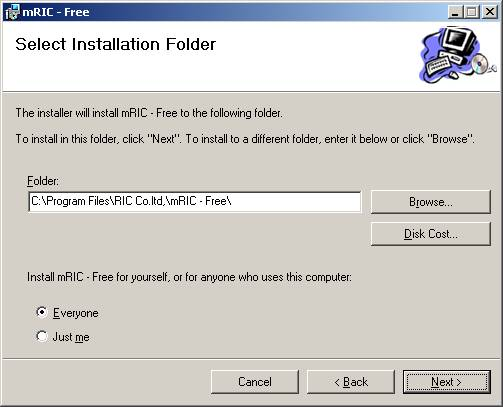 Cài đặt phần mềm bước 7