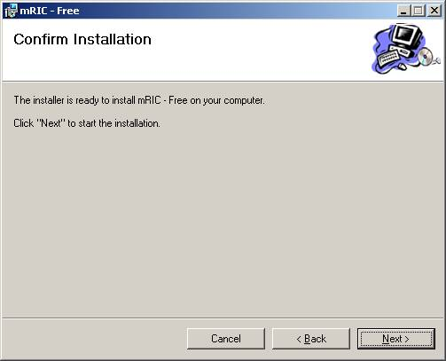 Cài đặt phần mềm bước 8