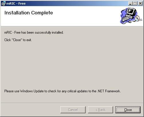 Cài đặt phần mềm bước 9