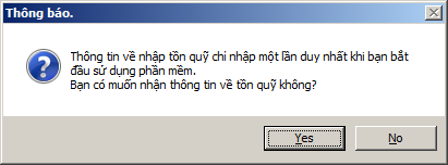 nhập tồn quỹ