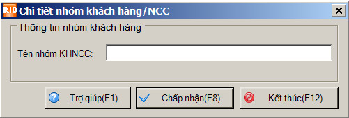 nhóm khách hàng/ncc